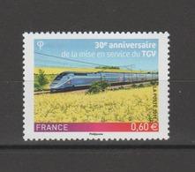 FRANCE / 2011 / Y&T N° 4592 ** : 30 Ans De TGV - Gomme D'origine Intacte - France