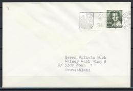Dänemark, MiNr. 759 Auf Brief Nach Deutschland; B-1235 - Briefe U. Dokumente