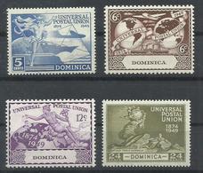 DOMINICA YVERT  111/14   MNH  ** - Dominica (1978-...)