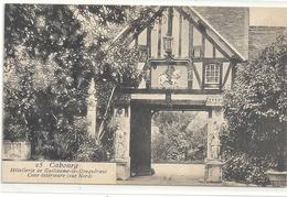 CABOURG - HOTELLERIE DE GUILLAUME-LE-CONQUERANT - COUR INTERIEURE . CARTE NON ECRITE - Cabourg