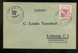 Boehmen Und Maehren / 1942 / Mi. 83 EF Auf Brief SSt. 86d (1/169) - Böhmen Und Mähren