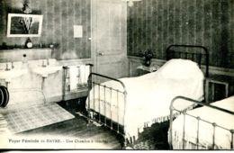 N°67156 -cpa Le Havre -foyer Féminin- Une Chambre- - Le Havre