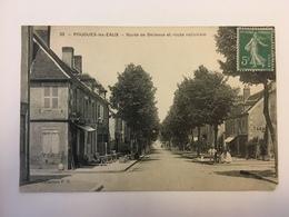 Pougues Les Eaux - Route De Bellevue Et Route Nationale - Pougues Les Eaux
