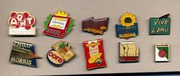 Lot 10 Pin's   à Voir - Badges