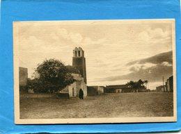 TUNISIE-TOZEUR-village Et Mosquée Au Crépuscule-beau Plan-a Voyagé En 1926+- -édit Guillot - Túnez