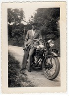 MOTO MOTORCYCLE BSA - FOTO ORIGINALE - Photographs