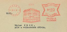 Prag Praha 1942 Kooperativa AgraSOL DLAZDENA - Böhmen Und Mähren