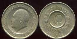NORVEGE 10 Kroner 1986 - Norvège