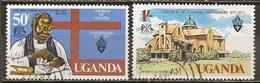 Uganda 1977 Eglise Church Of Uganda Obl - Uganda (1962-...)
