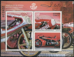 Espa�a 5012 ** HB. Motos. 2015 - 1931-Tegenwoordig: 2de Rep. - ...Juan Carlos I
