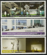 Espa�a 5034/5036 ** Museos. 2016 - 1931-Aujourd'hui: II. République - ....Juan Carlos I