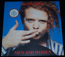 """SIMPLY RED – """"Men And Women"""" – LP – 1987 – 242071-1 – ELEKTRA/WEA – Made In Germany - Rock"""