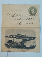 Argentine . Entier Postal Illustré . Tucuman ( Puente DEL  F.C.N.O) - Argentine