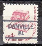 USA Precancel Vorausentwertung Preo, Locals Alabama, Danville 835,5 - Etats-Unis