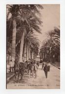 - CPA HYÈRES (83) - L'Avenue Des Palmiers 1915 (avec Personnages) - Editions Lévy N° 38 - - Hyeres