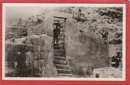 CPA: Bolivie - Carte-photo - Porte Antique - Bolivie