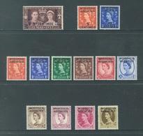 MOROCCO AGENCIES - MLH/*. - 3 SETS - Yv 70 63-70 93-94 -  Lot 18428 - Bureaux Au Maroc / Tanger (...-1958)
