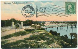 KANSAS- HUTCHINSON - Riverside Park - Etats-Unis