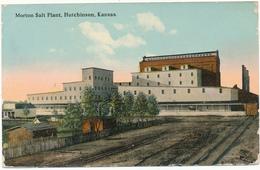 KANSAS - HUTCHINSON - Morton Salt Plant - Etats-Unis