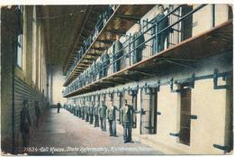 KANSAS - HUTCHINSON - Cell House, State Reformatory - Fold - Etats-Unis