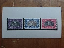 ESTONIA 1924 - Vedute Nn. 81/83 Nuovi * + Spese Postali - Estonia