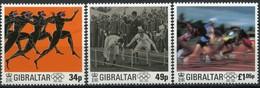 Gibraltar 1996 Yvertn° 780-782 *** MNH Cote 9,00 Euro Centenaire Des Jeux Olympiques - Gibraltar