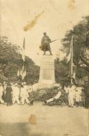 Nouvelles Caledonie New Caledonia Carte Postale Photo Monument Morts Noumea Inauguration Albani 1924 Neuve Us Courant - Nouvelle-Calédonie
