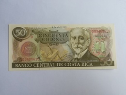 COSTARICA 50 COLONES 1981 - Costa Rica