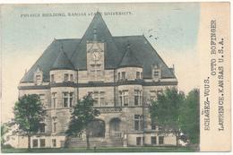 KANSAS - LAWRENCE - University, Physics Building - Lawrence