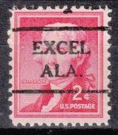 USA Precancel Vorausentwertung Preo, Locals Alabama, Exel 716 - Etats-Unis