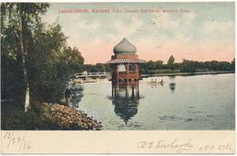 KANSAS - LEAVENWORTH - Lake Jeanette And Kiosk - Etats-Unis