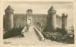 WW 54 DIEULOUARD. Reconstitution Du Château Fort - Dieulouard