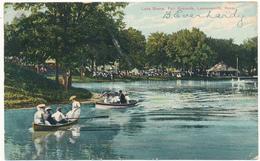 KANSAS - LEAVENWORTH - Lake Scene - Etats-Unis