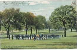 KANSAS - LEAVENWORTH - Infantry Guard Mount - Etats-Unis