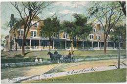 KANSAS - LEAVENWORTH - Officers Quarters - Etats-Unis