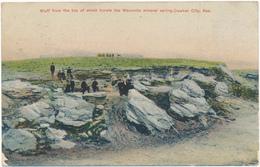 KANSAS - CAWKER CITY - Mineral Spring - Etats-Unis