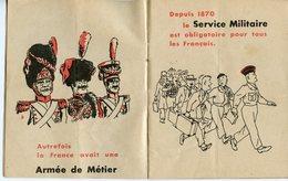 """BROCHURE VERS 1950. PRESENTATION DU SERVICE MILITAIRE """"BIENTÔT..."""" - Documents"""