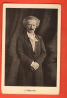 FKE-03b J. Paderewski . Foestisch Lausanne, Non Circuléb - Musique Et Musiciens