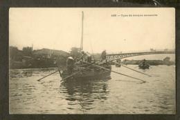 CP-Type De Jonque Annamite - Cartes Postales