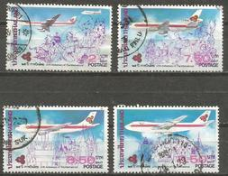 Thailand - 1985 Thai Airways Used   Sc 1107-10 - Thailand