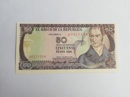 COLOMBIA 50 PESOS ORO 1983 - Colombie