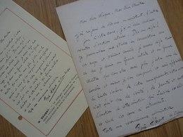 René HERENT (1897-1966) Artiste Lyrique TENOR. Opera Comique Paris. AUTOGRAPHE - Autographs