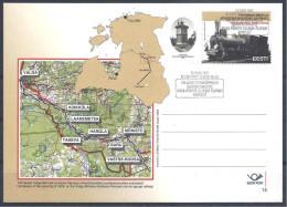 2003 ESTONIE Entier Postal Train - Estonie