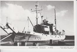 BATEAUX - SCORPION - Gabare 7-1973 - Cargos