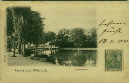 AK GERMANY - GRUSS AUS  WITTSTOCK - ROEBELERTHOR - PHOTO P. DONNERHACK - 1900( BG1643) - Wittstock