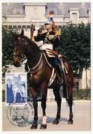 FRANCE - Carte Maximum - Garde Républicaine - Paris - 22 Novembre 1980 - 1980-89
