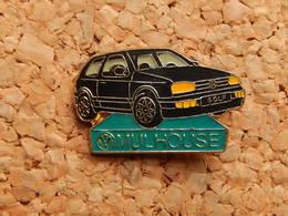 Pin's - Volkswagen GOLF - MULHOUSE HAUT RHIN 68 - Volkswagen