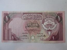Kuwait 1 Dinar 1968(1980-1991) Banknote - Koweït