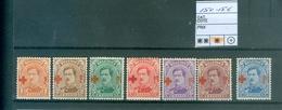 150-156 X Côte 63€ - 1918 Croix-Rouge