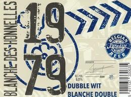 Etiket Belgian Paradise Beer - Bière